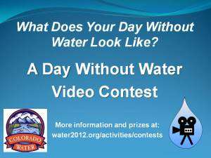 Day without water contest