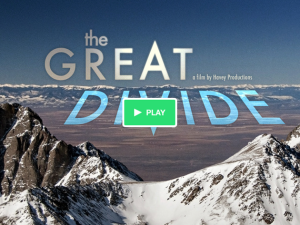 Havey Productions' Great Divide film on water in Colorado will debut in Spring 2015.