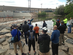 CFWE's urban waters bike tours help Coloradans understand the connections between urban rivers, water supply and the environment.