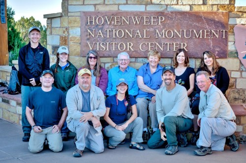 The Wright Paleohydrologic Institute Survey Crew Hovenweep September 2015